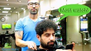 Video Best Curly Hair Transformation - Hair Straightening Keratin Treatment / Dry & Frizzy Hair MP3, 3GP, MP4, WEBM, AVI, FLV Oktober 2018
