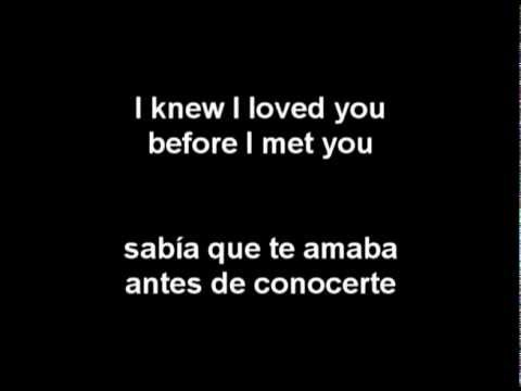Video Savage Garden - I Knew I Loved You (Letra En Español) download in MP3, 3GP, MP4, WEBM, AVI, FLV January 2017