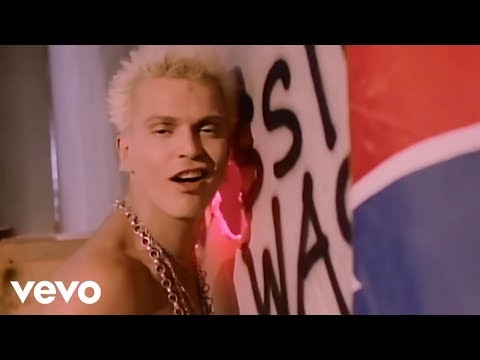 Billy Idol - Hot In The City lyrics