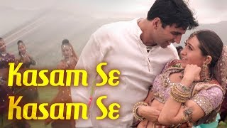 Video Kasam Se Kasam Se - Jaanwar Songs {HD} - Akshay Kumar - Karisma Kapoor - Udit Narayan - Gold songs MP3, 3GP, MP4, WEBM, AVI, FLV Agustus 2018