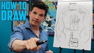 I walk you through the basics of how to draw 4 different hand poses.To watch all my new cartoons - download my app, The Noog Network: https://appsto.re/us/HvPP7.i
