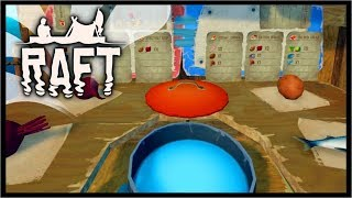Large Island POISON PUFFER & Advanced Cooking Update | Raft Survival Gameplay (Update)