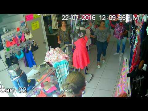 Obejrzyj to nagranie i nie odrywaj wzroku od prezentu! Tak się okrada sklepy z odzieżą!
