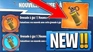 Video On ATTEND la *NOUVELLE GRENADE GAZ* sur Fortnite Battle Royale MP3, 3GP, MP4, WEBM, AVI, FLV Juni 2018