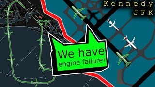 Video [REAL ATC] Brickyard E170 has ENGINE FAILURE after takeoff | Returns to JFK MP3, 3GP, MP4, WEBM, AVI, FLV April 2019