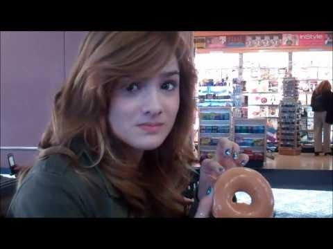 Chachi Eats A Doughnut