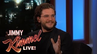 Kit talks about attending the Glastonbury Festival with some of the 'Game of Thrones' cast, and reveals that he booked a terrible vacation. Jimmy Kimmel Talks to ...