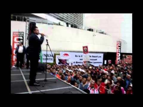 Plant�n contra la reforma a la LFT, 13 de noviembre 2012, c�mara de Senadores, M�xico