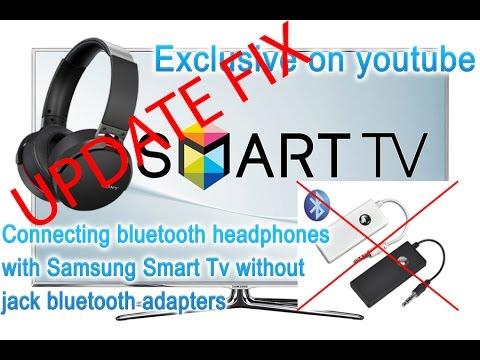 UPDATE FIX Connecting bluetooth headphones with Samsung Smart Tv; secret menu; EXCLUSIVE!