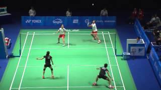 Video Badminton (Day 8) Sin vs Mas    28th SEA Games Singapore 2015 MP3, 3GP, MP4, WEBM, AVI, FLV Agustus 2018