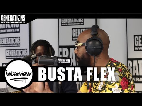 "Busta Flex - Interview ""Réédition Album"" (Live Des Studios De Generations)"
