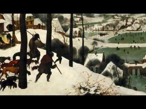 bruegel hunters in the snow winter video khan academy