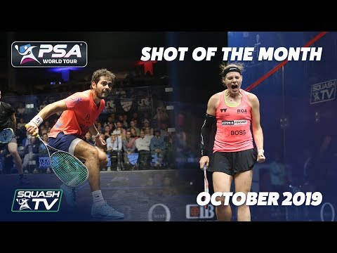 Squash: Shot of the Month - October 2019