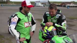 Chad and Chris Walker prepare their Kawasaki ZX6R's for the Isle of Man TT. View more great motorcycling videos on the MCN...