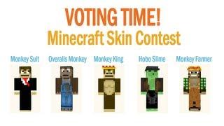Voting Time! - Minecraft Skin Contest