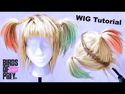 How I Style & Color Sturdy Up-do wig