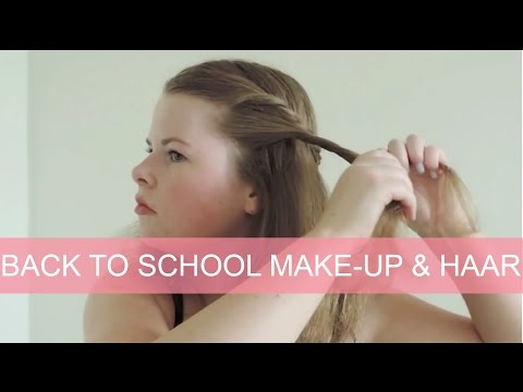 Tutorial: Back to school make-up & haar | Girlscene
