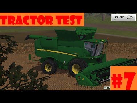 Farming Simulator 2013 | Tractor Test #7 : Moissonneuse John Deere S690i [FR]