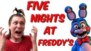 Video FIVE NIGHTS AT FREDDY'S - NADEGE CANDLE VS GROSSES BETES POILUES MP3, 3GP, MP4, WEBM, AVI, FLV Agustus 2017