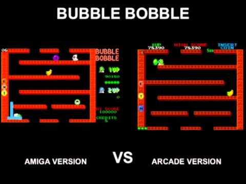 youtube bubble bobble amiga