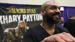 Exclusive: Actor Khary Payton from The Walking Dead!