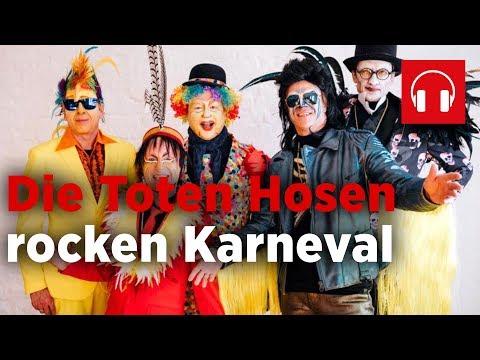 Die Toten Hosen rocken den Karneval in Düsseldorf