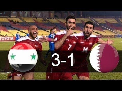 Syria vs Qatar 1 2 ● All Goals & Highlights ● 31 08 2017 HD
