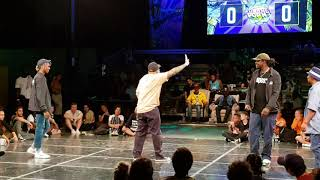 Slim Boogie & Kid Boogie vs Greenteck & Monsta Pop – Planet Pop'n Final 1st half