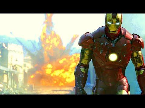 Iron Man vs Terrorists - Gulmira Fight Scene - Movie CLIP HD