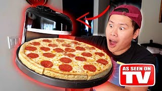Video THIS SPINS AND INSTANTLY MAKES PIZZA!!! DIY Learn How To Make Pizza (TESTING CRAZY GADGETS) MP3, 3GP, MP4, WEBM, AVI, FLV April 2018