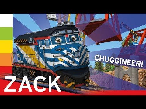 Паровозик Захар (Зак) Chuggington Die-Cast Tomy