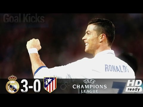 Real Madrid vs Atletico Madrid All Goals & Highlights 3-0 -UCL 02-05-2017 HD