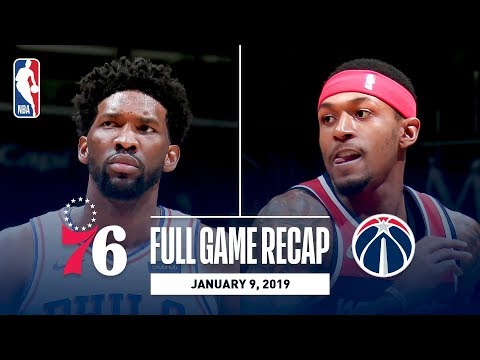 Video: Full Game Recap: 76ers vs Wizards | Beal and Embiid Both Go For 30+ Points