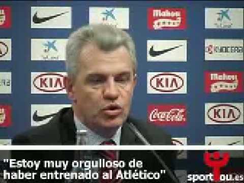 Javier Aguirre habla de su salida como entrenador del Atlético de Madrid