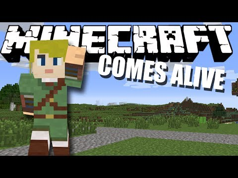 RUNNING AWAY! Minecraft Comes Alive #10