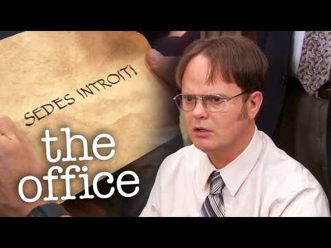 Dwight Schrute and The Holy Grail - The Office US