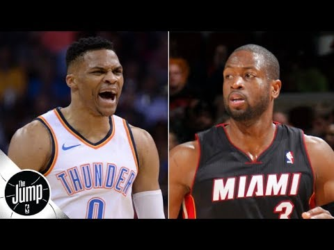 Video: Russell Westbrook should call Dwyane Wade for advice after Rockets trade - Dave McMenamin | The Jump
