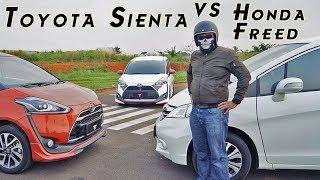 Video Toyota Sienta VS Honda Freed MP3, 3GP, MP4, WEBM, AVI, FLV November 2017