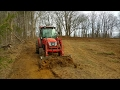 Creating flood able Duck Hunting food plot/Impoundment Day 3 (of many)