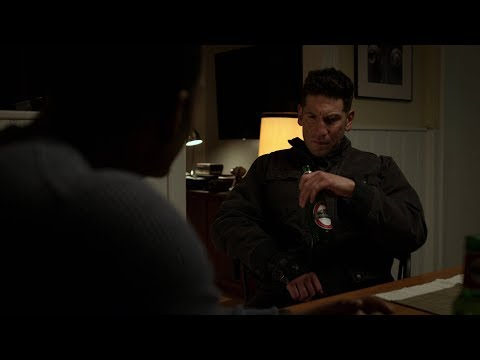 Marvel's The Punisher Season 2 Frank and Curtis ''You cracked his head like an egg.'' scene [1080p]