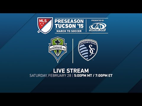 LIVE: Seattle Sounders FC vs. Sporting Kansas City | 2015 Desert Diamond Cup