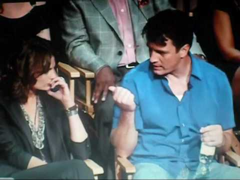 Castle: Paley Event moment-