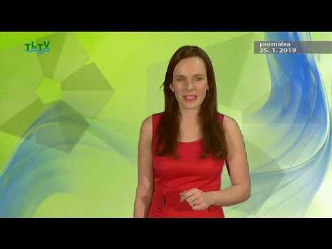 TLTV - Vysílání Třeboňské lázeňské televize 25. 1. 2019