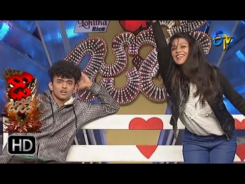 Sanketh,Priyanka Performance | Dhee Jodi | 14th December 2016 | ETV Telugu