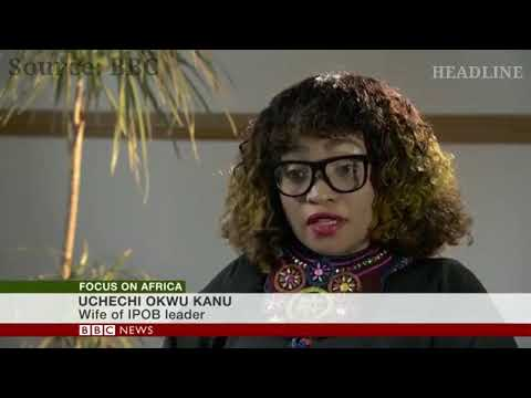 2019: Tells Us Nnamdi Kanu's Whereabout Otherwise We Are Not Going To Vote, Wife Of IPOB Leader Says