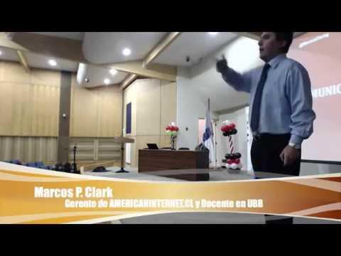 Marcos P. Clark Gavilán en Seminario de Branding Digital Personas & Éxito en UBB