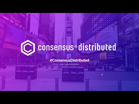 Consensus Distributed Powered By CoinDesk is coming. Join us May 11-15, 2020. video