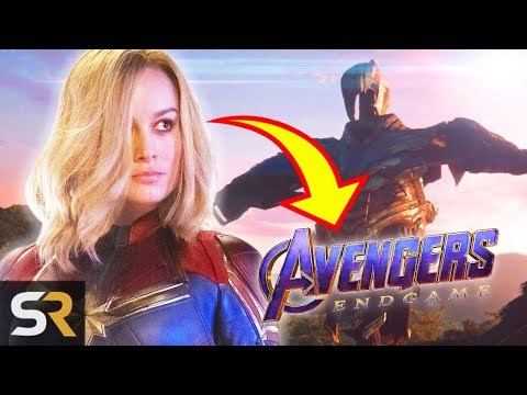 How Captain Marvel Connects To Avengers: Endgame