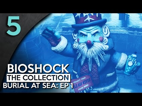 Let's Play BioShock Infinite Burial At Sea Episode 1 Part 5 - Rapture Rink [Burial At Sea Gameplay]