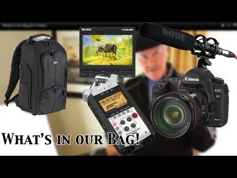 What's in Our Bag (For Video)